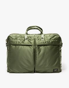 From Porter-Yoshida & Co., an overnight briefcase bag inspired by the flight…