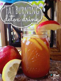 Fat Burning Detox Drink Recipe - Raining Hot Coupons