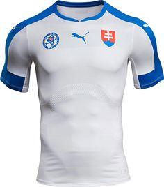 Puma apresenta nova camisa titular da Eslováquia - Show de Camisas