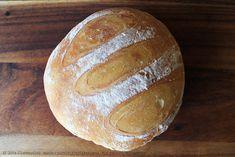 Baked No-Knead Crusty Vegan Bread