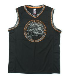 "Metal Mulisha C ""TEK"" K JERSEY Mock Mesh Athletic Jersey Sleeveless Tank Top  #MetalMulisha #Jerseys"