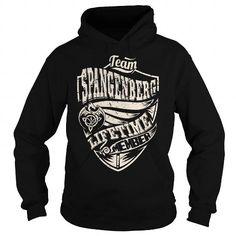 I Love Team SPANGENBERG Lifetime Member (Dragon) - Last Name, Surname T-Shirt T-Shirts