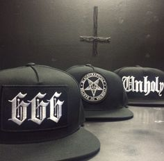 Black Craft Cult Snapbacks