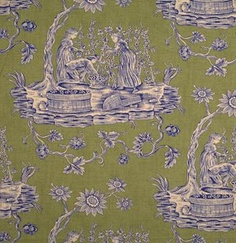 16311-005 Winegrowers Printed Toile by Scalamandre