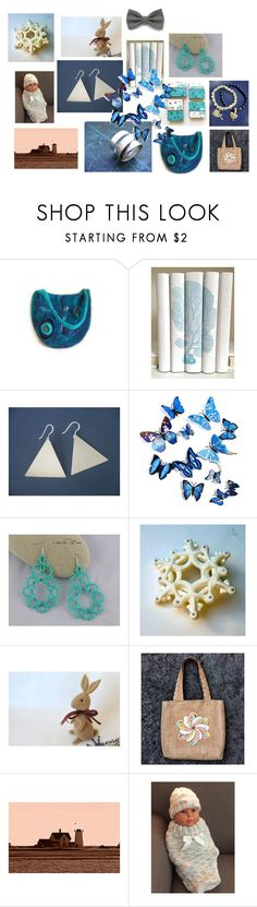 """""""Farfalle in volo"""" by acasaconmanu ❤ liked on Polyvore"""