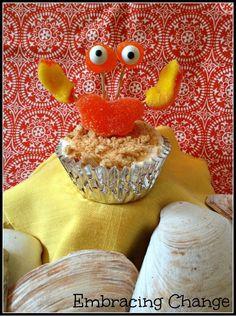 Crabby Cupcakes