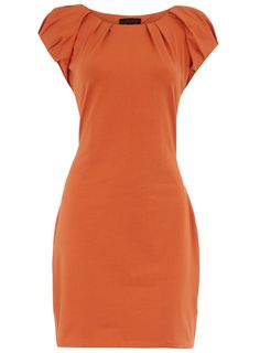 Pretty Clever: Your daily dose of pretty: Orange Bodycon Dress by Dorothy Perkins