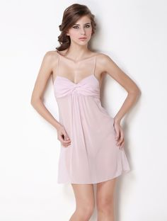 100% Georgette Silk Super Sexy Sweetheart Chemise - Chemises - Sleepwear,$93.98,Slcm0005Dark Purple