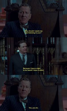 """""""The King's Speech"""" -I cannot even begin to express how much these lines spoke to me"""