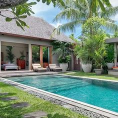Villa Eshara is an collection three chic #interconnecting villas, ideally located in central #Seminyak, just a stroll away from first class eateries, designer #boutiques, white sand #beaches and some of the best surf spots in the world. The three #stylish villas, Eshara I, Eshara II and Eshara III, can be booked either #independently or combined. Huge heavy screens slide away to offer the #flexibility of 2- to 8-bedroom combinations or individual privacy. Whether you are a large party…