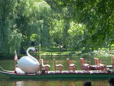 Swan Boat Boston Common...done that