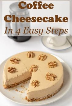 Cheesecake Au Café, Easy Cheesecake Recipes, Chocolate Cheesecake, Easy Pudding Recipes, Chocolate Cake, Raspberry Cheesecake, Easy To Make Desserts, No Bake Desserts, Dessert Recipes