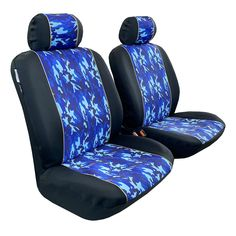 Waterproof neoprene, camouflage, blue & black seat covers for tacoma Best Seat Covers, Car Covers, Toyota Tacoma Seat Covers, Jeep Wrangler Seat Covers, Waterproof Seat Covers, Car Seats, Ford, Cover