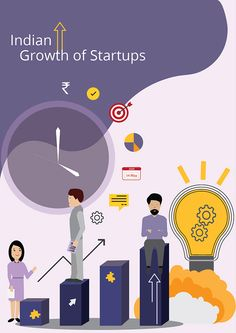 Infographics- Startups growth on Behance Competitor Analysis, Startups, Mood Boards, Infographics, Behance, Creative, Cover, Inspiration