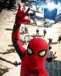 Schöne Grüße vom Spider-Man Homecoming-Set! Greetings from the Set of Spider-Man Homecoming