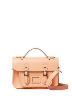 The Cambridge Satchel Company Mini Satchel Bag Shoulder Strap, Shoulder Bags, Cambridge Satchel, Satchel Bag, Korean Fashion, Leather Bag, Logo Design, Handbags, Mini