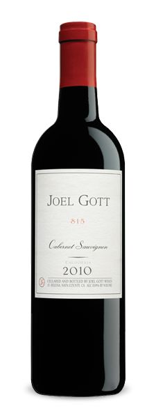 Joel Gott 815 Cabernet Sauvignon 2010. Had it to bring in 2013 and it might become a new favorite. Can't wait to try the 2009.