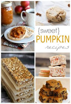 A delicious collection of Sweet Pumpkin Recipes that you NEED in your life. | www.joyfulhealthyeats.com