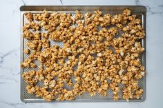 Peanut Butter Popcorn Is the Perfect Sweet and Salty Movie Night Snack Whether it is a homemade gift for the holidays or just for movie night at home, you will love this recipe for peanut butter popcorn. Peanut Butter Popcorn, Peanut Butter Recipes, Creamy Peanut Butter, Dog Food Recipes, Healthy Movie Snacks, Movie Night Snacks, Filling Snacks, Sweet And Salty