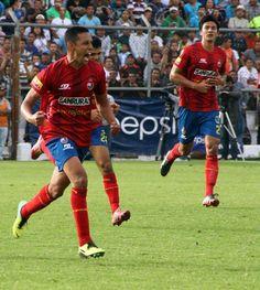 Gol de Alvizuris  3 Dic 2014 Municipal 1 Antigua 1
