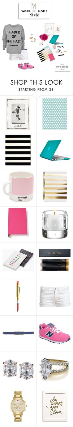 """""""Untitled #23"""" by kschneider91 ❤ liked on Polyvore featuring Kate Spade, Garance Doré, Speck, Pantone, Sloane Stationery, Le Temps Des Cerises, New Balance, MINKPINK, Anne Klein and The Limited"""
