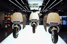 The #gogoro smart electric scooter - who thought scooters could look sexy?