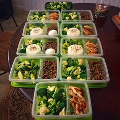 By @thadeus_jr : Meal Prep Monday. Ground Beef Taco, Grilled Fragrant Chicken, Brussel Sprouts, Cauliflower, Broccoli, Boiled Eggs, and Jasmine Rice.  Visit MealPrepMondays.com for simple recipes and more. ❤️ #mealprepmonday #homemade #mealplan #failtoplanplantofail #foodprep #leanandgreen #eattogetfit #journeytofitness #fitnessisalifestyle #fitfam #fitlife #musclefuel #mealprepmondays