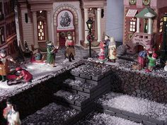 Christmas in the City by Village Display Bases, via Flickr