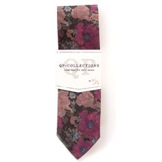 Handmade Red Midnight Skinny tie by qpcollections on Etsy, $68.00