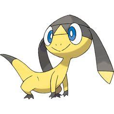 Pokemon #694 Helioptile