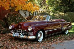 A breath-takingly gorgeous 1948 Cadillac Series Sixty Two Convertible.