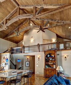 Rustic home remodel by Lecy Bros. Homes.