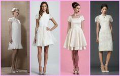 vestido de noiva curto qual usar