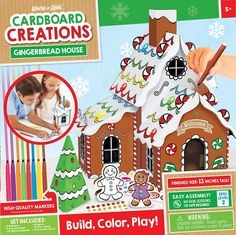 Best Gingerbread House Kits   Christmas 2020   Goldilocks Effect Best Gingerbread House Kit, Gingerbread Cookie Mix, Cardboard Gingerbread House, Cool Gingerbread Houses, Classic Holiday Movies, Types Of Candy, Cookie House, Rudolph The Red, Santas Workshop