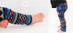 5 minute, 5 step leggings for littles | bohemian kids