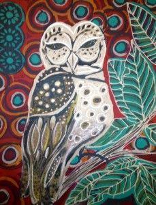 Owl (original Batik)