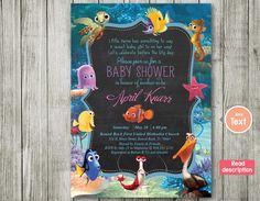 Finding Nemo Nemo Baby Shower Invitation Baby By BlueBabyStar