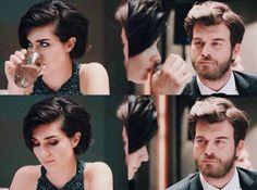 Cesur ve Güzel Cute Couples, Hair Beauty, Characters, Actors, My Love, Turkish People, Actresses, Sweetie Belle, Adorable Couples