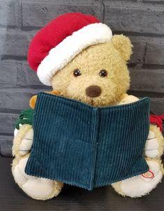 b76d454b7a479 Storytelling Animated Mama Bear plush Twas the Night Before Christmas Santa  hat  PBC  Christmas