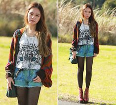 Eye of the Tiger (+ Giveaways) (by Chloe T) http://lookbook.nu/look/3839653-Eye-of-the-Tiger-Giveaways