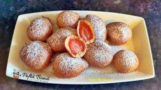 Gogosi cu capsuni Pretzel Bites, French Toast, Bread, Breakfast, Desserts, Food, Morning Coffee, Tailgate Desserts, Deserts