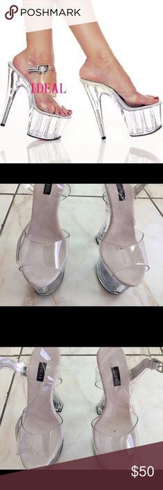 1a1e878d7a7 27 Best Transparent heels images in 2018 | Shoes heels, High heel ...