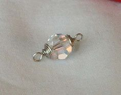 How to wire wrap a briolette or bead