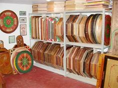 Awesome Collection of Antique Crokinole Boards from Mr. Crokinole (Wayne Kelly)