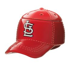"""LOUIS CARDINALS™ MLB SCENTSY WARMER It's hats off to America's favorite pastime with our NEW Major League Baseball™ Collection. These officially licensed warmers are """"stitched"""" with your team's logo and look great next to the game ball on your shelf. Major Baseball, St Louis Baseball, Baseball Cap, Baseball Season, Baseball Stuff, Cardinals Baseball, St Louis Cardinals, Scented Wax Warmer, Wax Warmers"""
