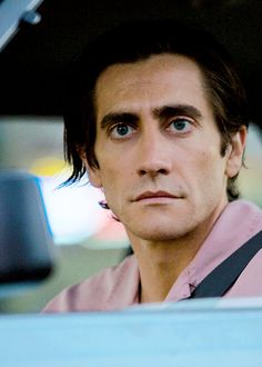 Nightcrawler (2014). Jake deserves one of my Notscars for this performance!  A Notscar is an award I made up for actors who deserve Oscars for performances but didn't get one because Hollywood is just a big high school and the Oscars have become meaningless.     I have a plan to revamp the process, but I doubt they would listen to me. I didn't even go to the prom. Even Carrie went to the prom!!!