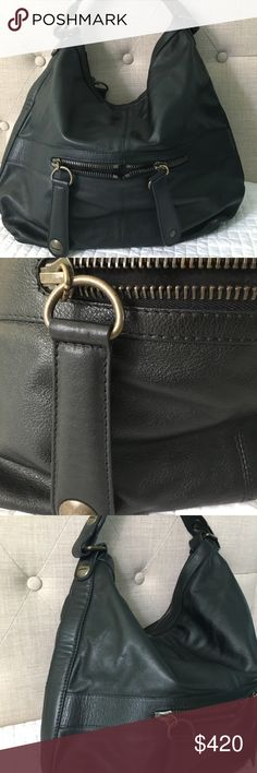 "Gerard Darel Midday Midnight Hobo bag brand new bag with detachable zippered bag . color black . 17"" x 15""  x 5"" gerard darel Bags"