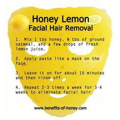 DIY Facial Hair Removal