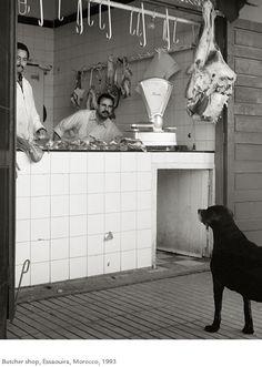 Kristoffer Albrecht, Butcher Shop, Essaouira, Morocco, 1993