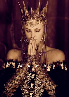 Charlize Theron as Evil Queen Ravenna in Snow White and the Huntsman